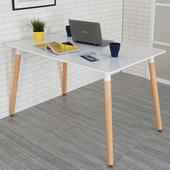 《Homelike》貝莉北歐風大餐桌(亮麗白)