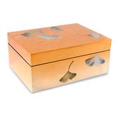 《SCENEAST》昕東方手工漆器-銀杏收納盒玫瑰金