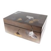 《SCENEAST》昕東方手工漆器-銀杏收納盒/低調黑LBO-038B/6CDB $1990