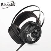 《E-books》SZ3 黑武士炫光電競耳麥(黑)