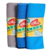 《多麼潔》超纖細纖維擦拭布30*30CM 3入(3入/C7323)