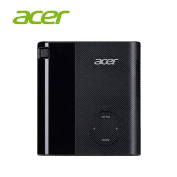 Acer C200 行動電源微型LED投影機(黑色)