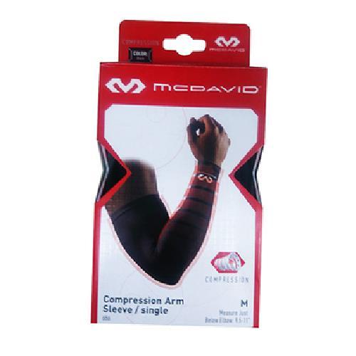 《MCDAID》壓縮長版護肘(MD656-黑M)