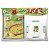 《康寶》濃湯四入送保鮮盒(新雞蓉玉米-54.1g*4包)