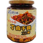 《澎湖漁會》丁香干貝XO醬(450g±3%/瓶)