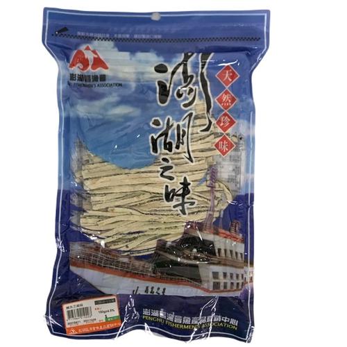 《澎湖漁會》鱈魚芝麻絲(150G±4.5%/包)