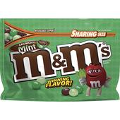 《M&M's》可可脆心巧克力薄荷口味(226.8g)
