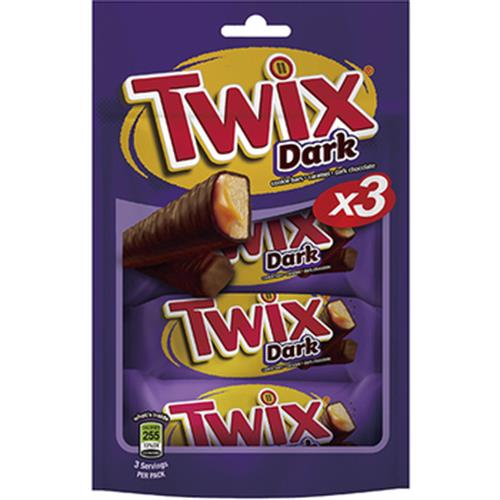 《twix特趣》黑巧克力三入包(50.7g x 3)