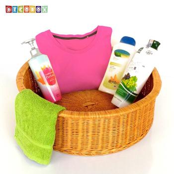 《DecoBox》日式澡堂衣物大收納籃(澡堂,SPA,三溫暖,拖鞋籃, 備品籃, 收納雜物籃)