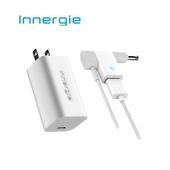 《台達電》Innergie PowerGear™ 60C / 60 瓦 USB-C 筆電充電器(60C+充電線+Wizard旗艦組)