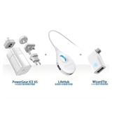 《台達電Innergie》PowerGear ICE 65w筆電變壓器 + Wizard充電連接器 + Lifehub Plus快充分享器
