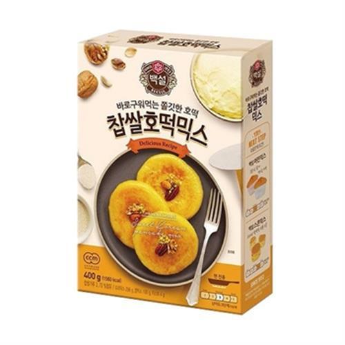 《韓國CJ》DIY肉桂黑糖煎餅粉(400g/盒)