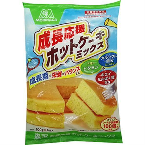 《森永》成長應援鬆餅粉(100gX4袋/包)