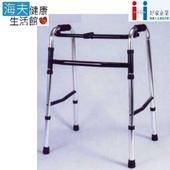 《海夫健康生活館》好家助行器(未滅菌) 台灣製 鋁合金 1吋鋁管 固定 助行器(一般/高/低)(一般(B101LSI))