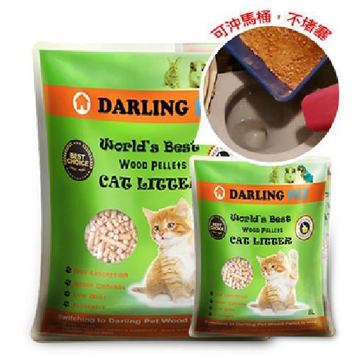 《達伶DarlingPet》優質環保松木砂(8L/包)