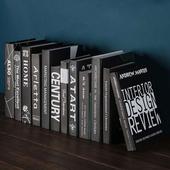 《Novella Amante》現代黑系英文裝飾書(XL)