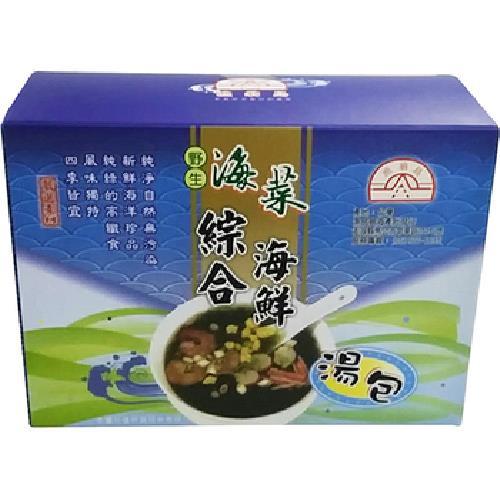 《漁翁島》綜合海鮮湯包(7g±9%X10包/盒)