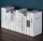 《Novella Amante》現代白系英文裝飾書(XL)