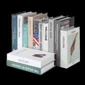 《Novella Amante》現代簡約系英文裝飾書(XL)