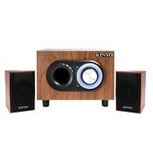 《KINYO》KY-1703典藏全木質超重低音喇叭