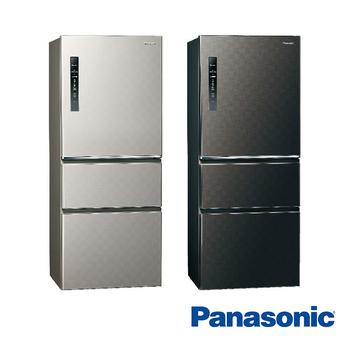 Panasonic國際牌 500公升 三門 變頻 電冰箱 NR-C500HV-K 星空黑(NR-C500HV-K)