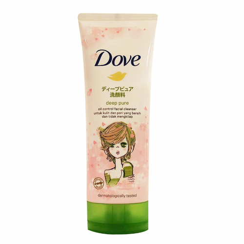 《Dove 多芬》洗面乳100g(淨透柔嫩)