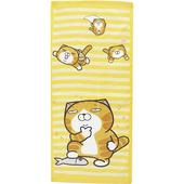 《白爛貓》滿版印花毛巾-33x75cm(WK 303)