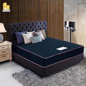 《ASSARI》布藍達護背式冬夏兩用彈簧床墊(單大3.5尺)