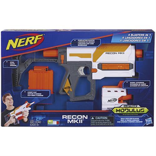 《NERF》自由模組 MK11偵查衝鋒槍(顏色隨機出貨)