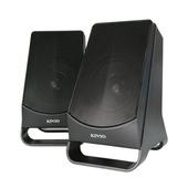 《KINYO》USB立體聲喇叭US-213