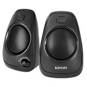 《KINYO》USB立體聲喇叭US-207