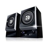 《KINYO》二件式木質立體擴大音箱KY-1007
