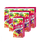 《波蜜》一日蔬果100%葡萄蔬果(160ml*6包/組 (TP))