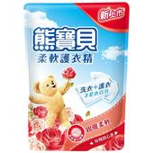 《熊寶貝》柔軟護衣精補充包-1840ML(玫瑰甜心香)