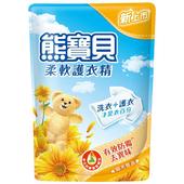 《熊寶貝》柔軟護衣精補充包-1840ML(陽光馨香)
