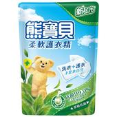 《熊寶貝》柔軟護衣精補充包-1750ml(茶樹抗菌)