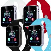 《IS愛思》SW-07PLUS 藍牙通話智慧手錶(紅色)