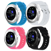 《IS愛思》16-RW 心率運動音樂控制藍牙智慧手錶(白色)