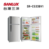 《SANLUX台灣三洋》533公升變頻冰箱SR-C533BV1(原廠公司貨)(SR-C533BV1)