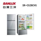 《SANLUX台灣三洋》528公升變頻電冰箱SR-C528CVG(原廠公司貨)(SR-C528CVG)