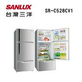《SANLUX台灣三洋》528公升變頻冰箱SR-C528CV1(原廠公司貨)(SR-C528CV1)