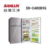《SANLUX台灣三洋》480公升變頻電冰箱SR-C480BVG(原廠公司貨)(SR-C480BVG)