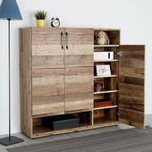 《Homelike》森佐木4尺置物櫃