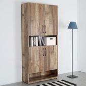 《Homelike》森佐木2.7尺半開放置物櫃