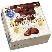 《明治》MeltyKiss代可可脂牛奶巧克力(60g/盒)