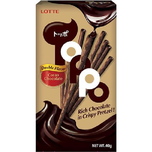 《樂天》Toppo濃厚巧克力夾心棒(40g)