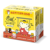 《春風》黃阿瑪卡通版抽取式衛生紙100抽*20包 $219