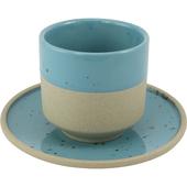 《SCENEAST》墨點描邊系列-茶杯(青)