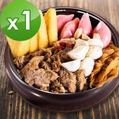 《樂活e棧》養生薑母鴨-蛋奶素可食(1300g)(1盒)