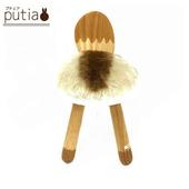 《Putia》日本兒童動物造型木製椅-浣熊(浣熊)
